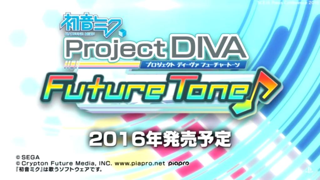 hatsune miku project diva future tone « SEGADriven