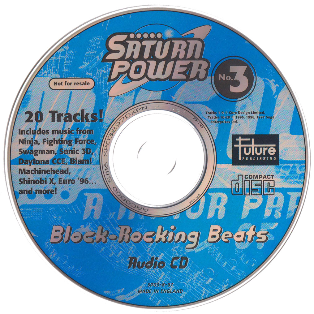 Saturn Power No  3: Block-Rocking Beats « SEGADriven