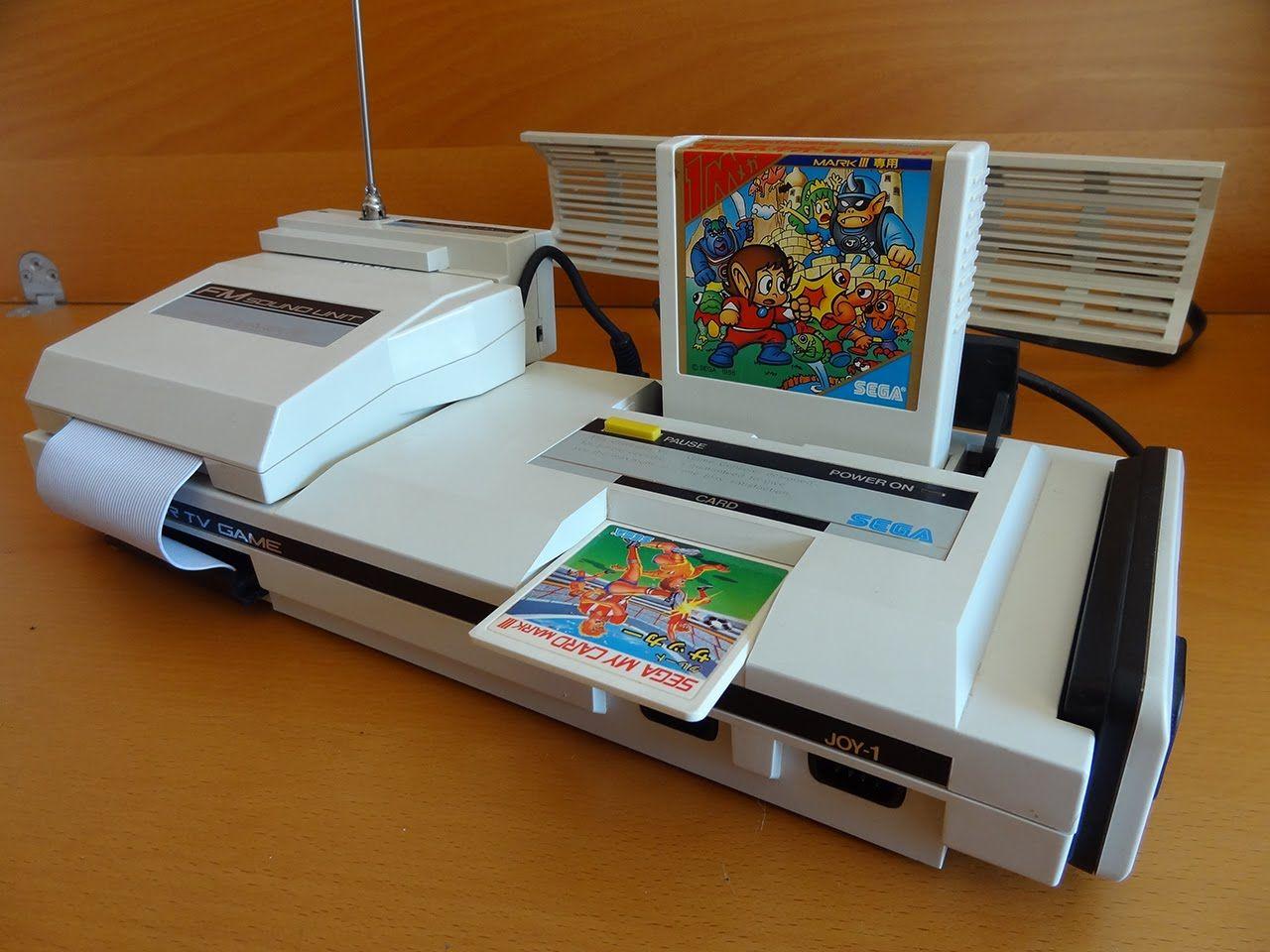 Top 10 consoles mais bonitos de todos os tempos, segundo o Asilo Retrogamer. Segamarkiii