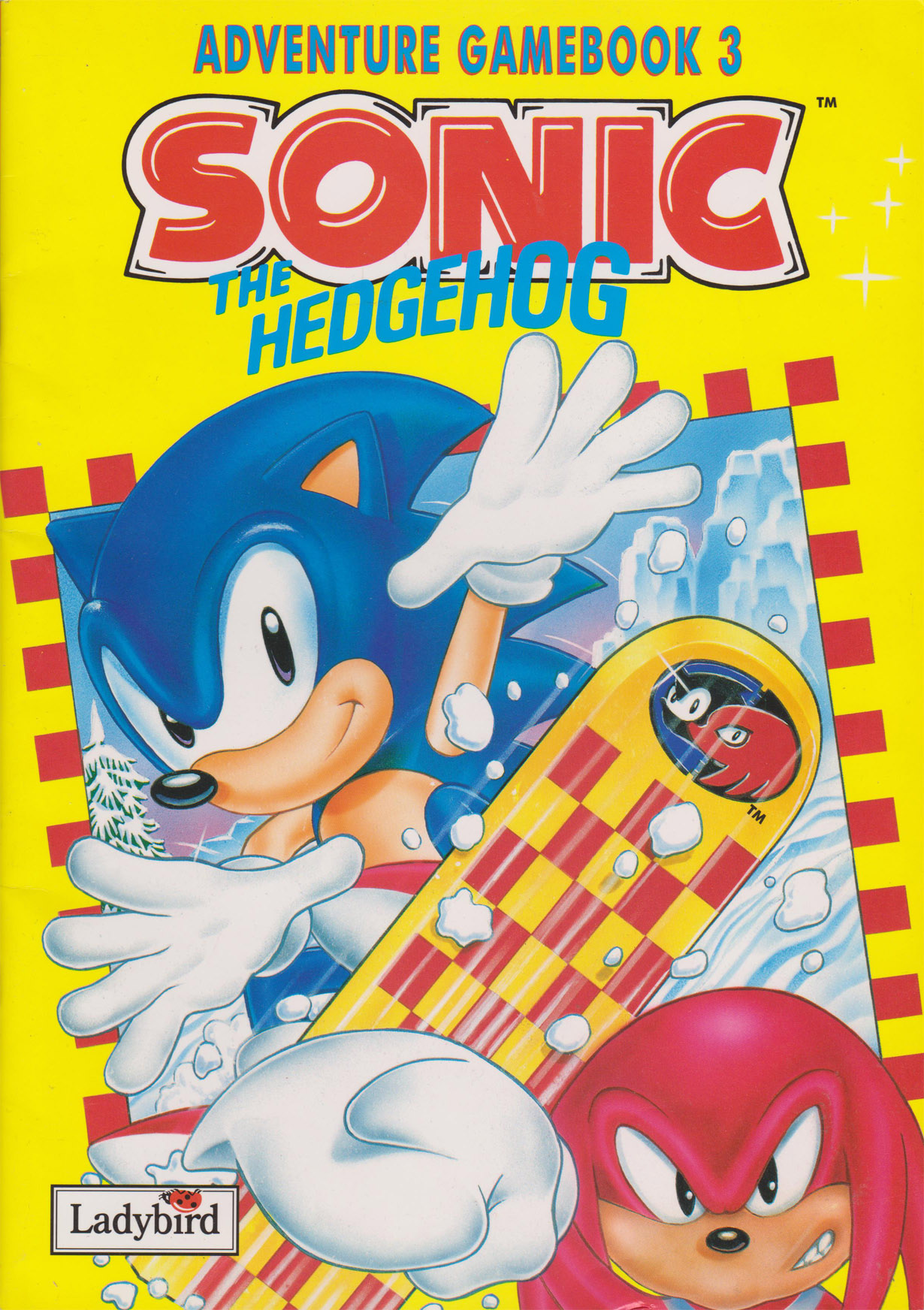 Sonic The Hedgehog Adventure Game Book 3 Segadriven