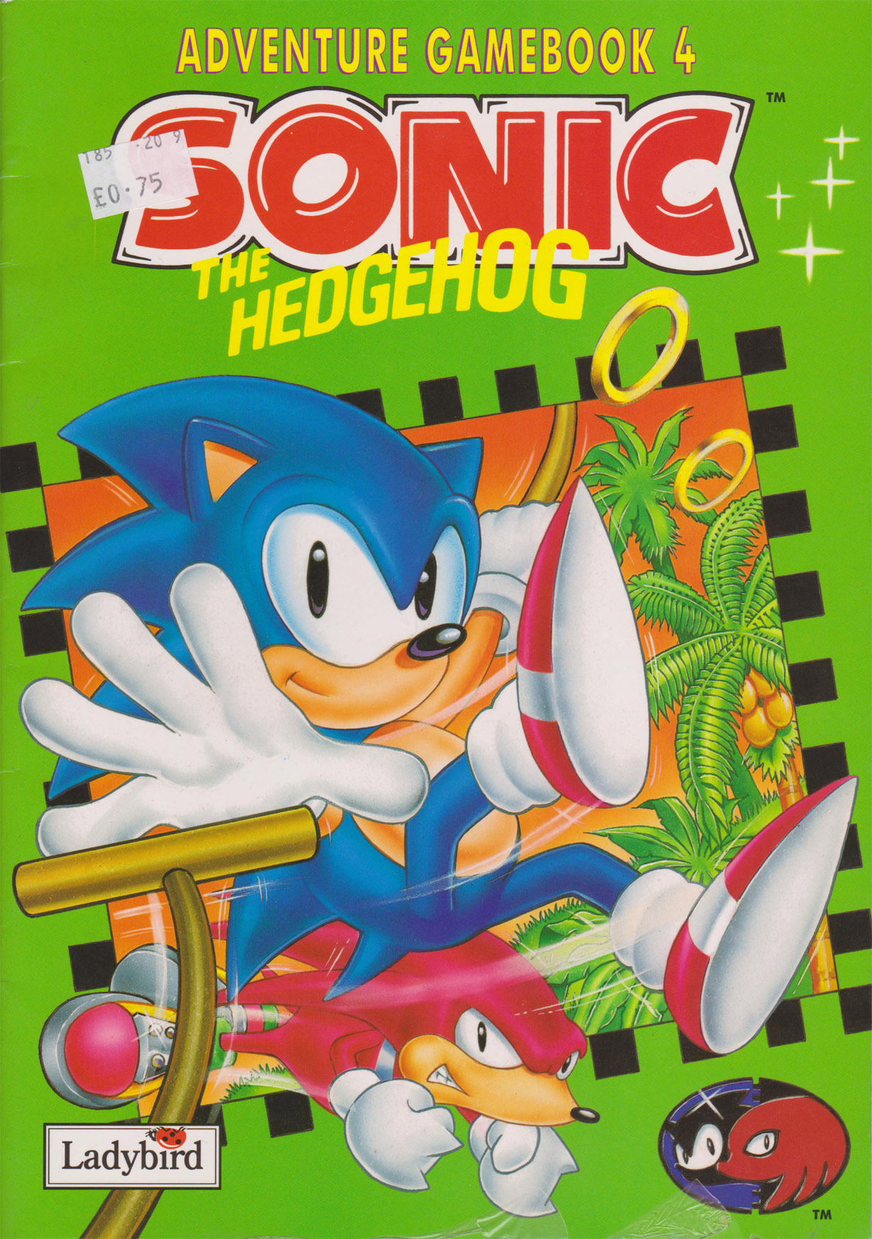 Sonic The Hedgehog Adventure Game Book 4 Segadriven