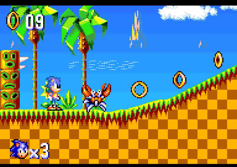 Homebrew Developer Creating Sonic 8 Bit Port For Amstrad Gx 4000 Fan Scene Segadriven